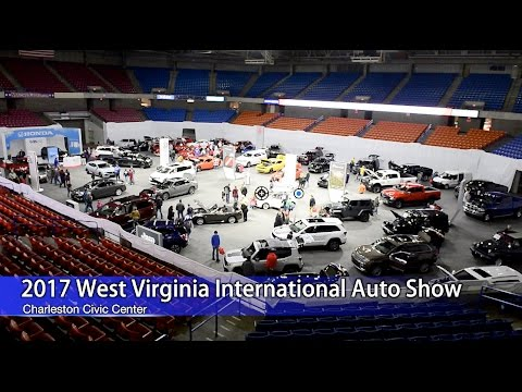 The West Virginia International Auto Show YouTube - Civic center car show