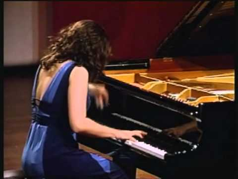 Dudana Mazmanishvili plays Mozart Sonata F Major K. 494/K. 533, 2. mov.