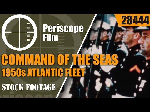 COMMAND OF THE SEAS   1950s ATLANTIC FLEET / SIXTH FLEET  U.S. NAVY 28444