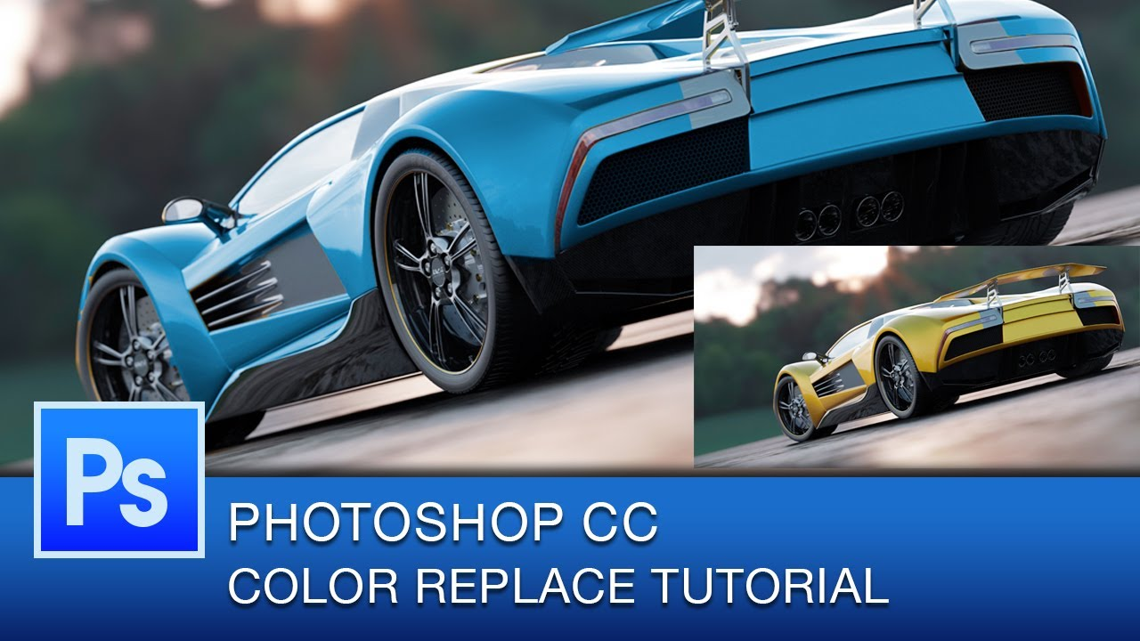 How to change a colour in photoshop cc