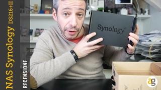 RECENSIONE NAS Synology DS 216+II cos'è e a cosa serve?