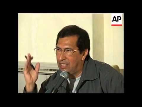 New Venezuelan ambassador holds news briefing