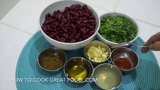 Red Bean Hummus - Dip Pate Vegan Recipe