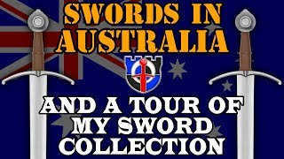 Sword ownership in Australia and a tour through my collection