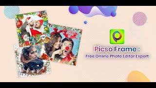 PicsoFrame : Photo Editor, frames & Collage maker screenshot 1