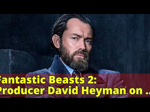tastic Beasts 2: Producer David Heyman on what to expect from Jude Law's Dumbledore