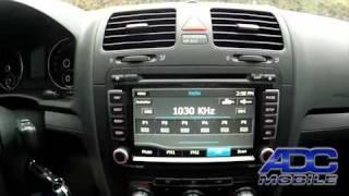 2010 VW Jetta: Advent OE Navigation: Radio Operation