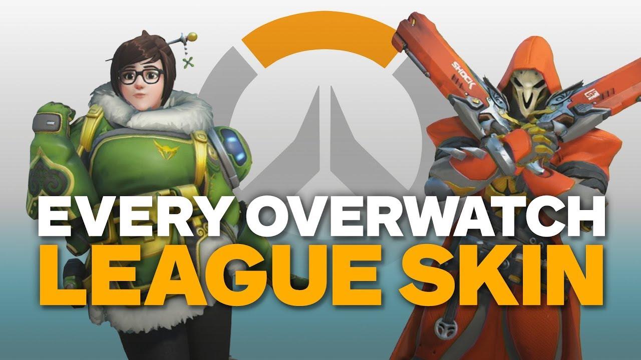 how to get overwatch league skins in overwatch