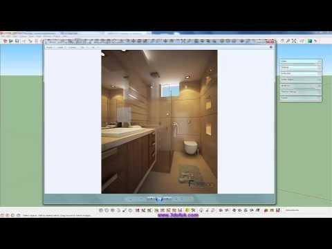 Sketchup Vray Banyo Modelleme 01