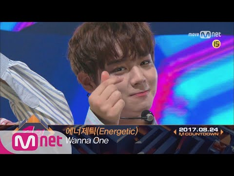 Top in 4th of August, 'Wanna One' with 'Energetic', Encore Stage! (in Full) M COUNTDOWN 170824 EP.53
