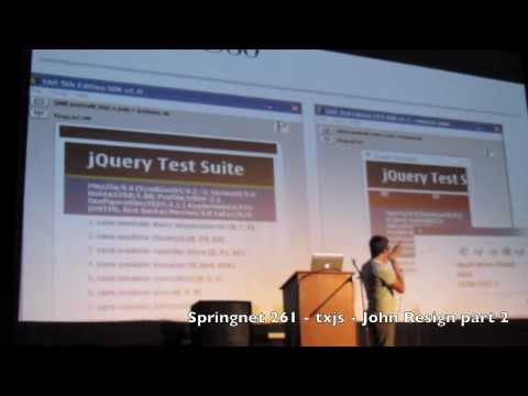 Springnet 261  txjs  John Resig  part 2 of 2