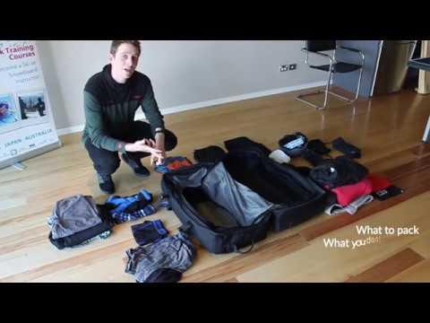EA Ski  Snowboard's Packing Guide