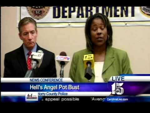 Hells Angels president busted in Horry County