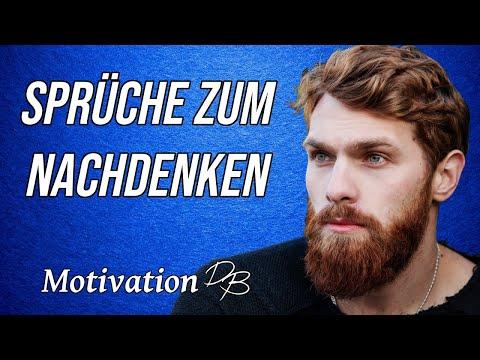 Motivierende Sprüche zum Nachdenken | Motivation Deutsch| Motivationsvideo