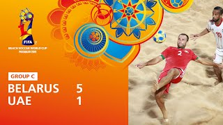 Belarus v United Arab Emirates [Highlights] - FIFA Beach Soccer World Cup Paraguay 2019™