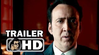 VENGEANCE: A LOVE STORY Official Trailer (2017) Nicolas Cage, Don Johnson Action Movie HD