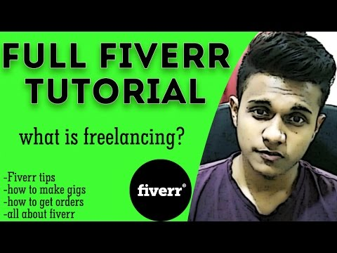 How to earn money on fiverr | freelancing | how to make gigs on fiverr