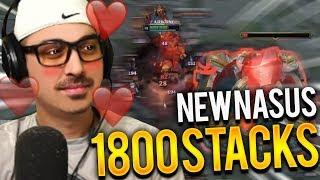 1800 STACKS NASUS JUNGLE | NEW NASUS IS BROKEN - Trick2G