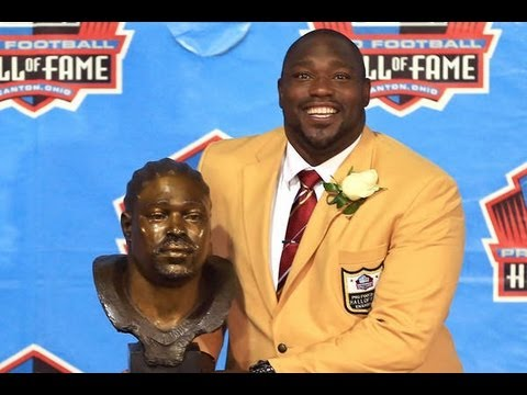 Warren Sapp - Pro Football Hall of Fame 2013