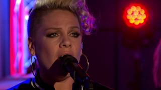 P!nk - What About Us (Live lounge) [HD] #Gay #Live #MadridPride