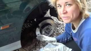 Ремонт переднего тормозного суппорта на BMW e36.(Видео о ремонте (реставрации) переднего тормозного суппорта на BMW e36 своими руками., 2016-06-23T03:40:37.000Z)