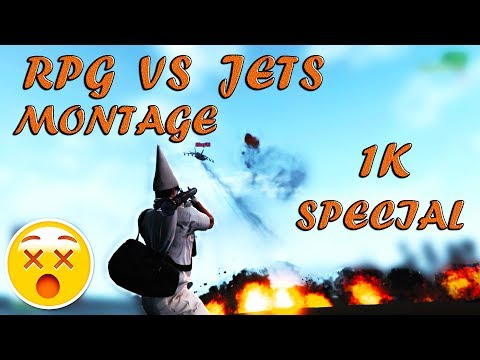 GTA V Online -RPG VS JETS MONTAGE NO DEATHS- (1K Special)