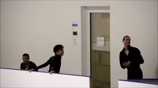 Shoma Uno and Jason Brown: conversation before Award Ceremony 2. Lombardia Trophy 2016