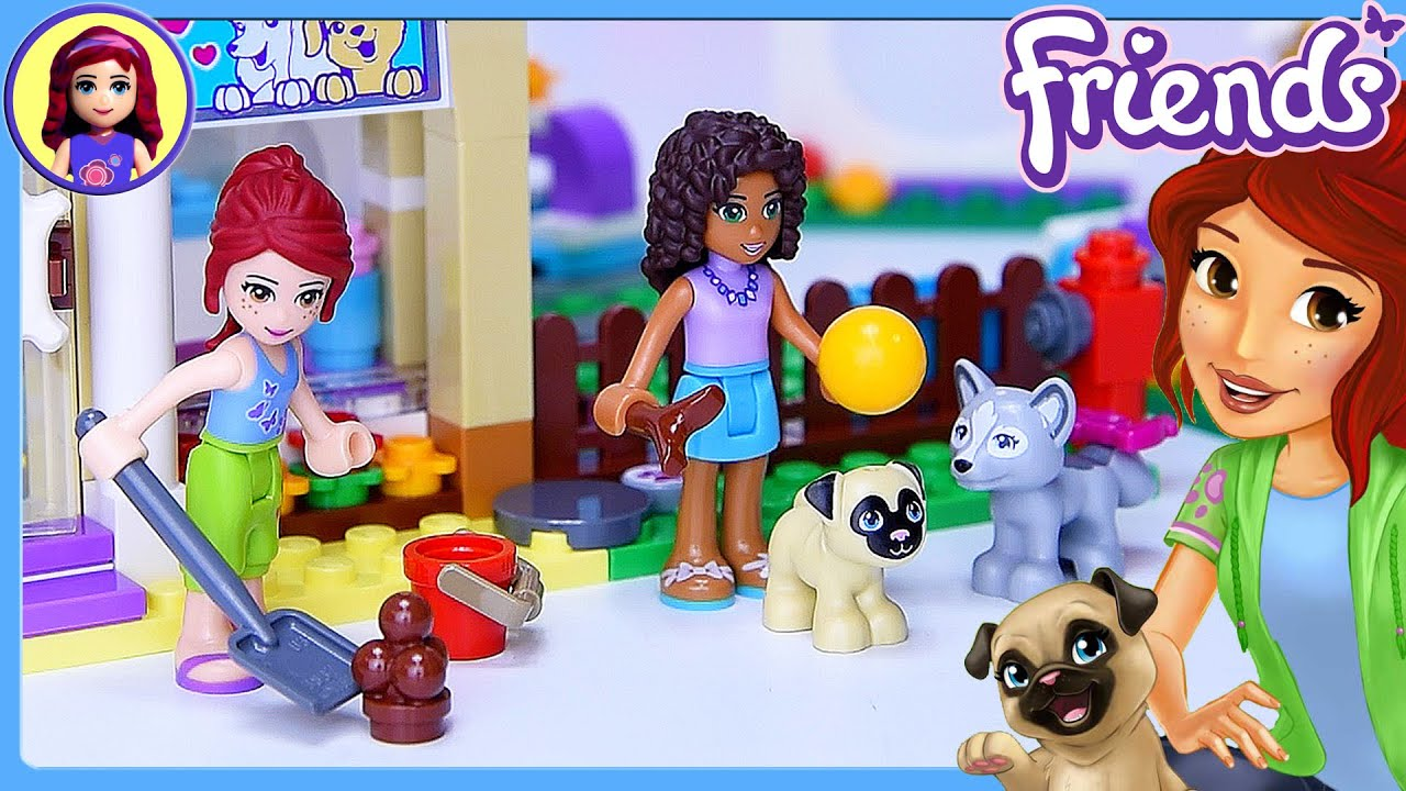 lego friends game how to play