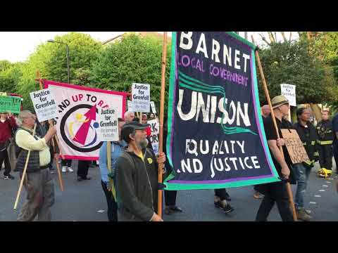 """Grenfell Silent march 14 May : """"The fight for justice goes on"""""""