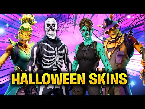 The NEW Fortnite Halloween Skins Coming... (Skull Trooper, Ghoul Trooper, Scare Crow)