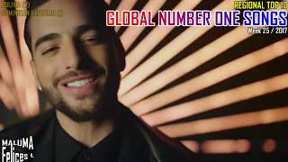 GLOBAL NUMBER ONE SONGS (week 25 / 2017)