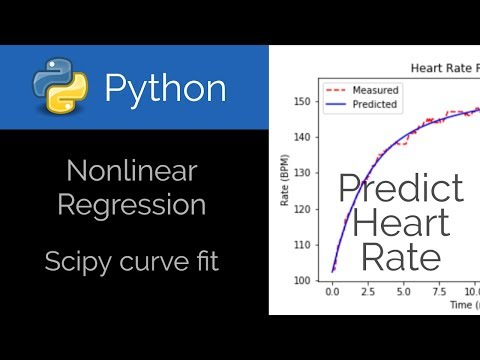 Python 🐍 Nonlinear Regression Curve Fit