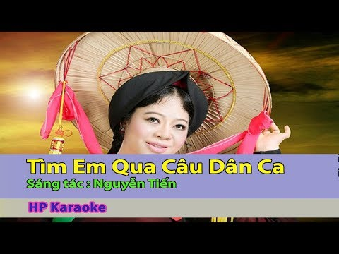Tìm Em Qua Câu Dân Ca Karaoke l Beat chuẩn