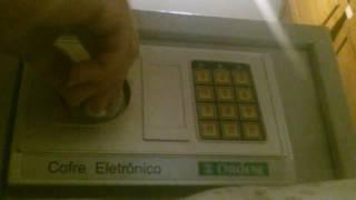 Unlock Cofre Eletrônico Ordene