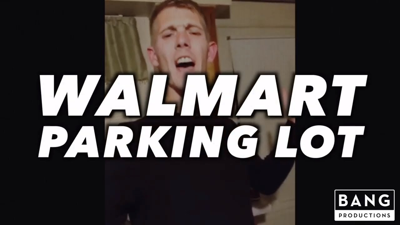 COMEDIAN ANDREW CONN: WALMART PARKING LOT - COMEDY FUNNY LAUGH