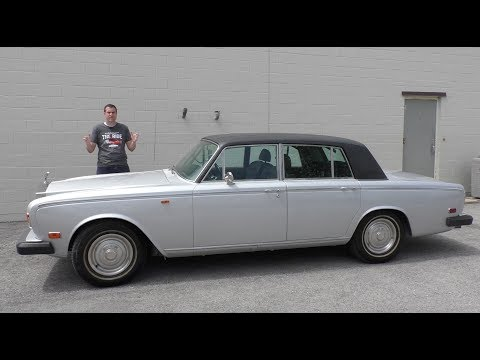 Here's a Tour of the Most Expensive Rolls-Royce Sedan From 1973