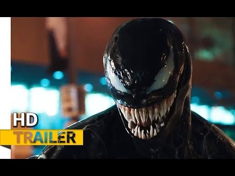 NEW! Venom (2018) | OFFICIAL TRAILER Starring Tom Hardy, Jenny Slate, Michelle Williams, Riz Ahmed