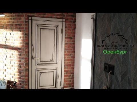Двери LOFT. Подсветка в плинтусе.