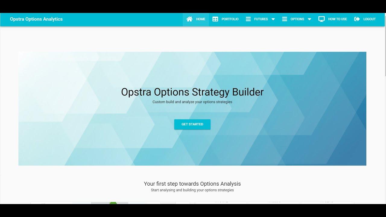 Opstra Options Login at opstra.definedge.com