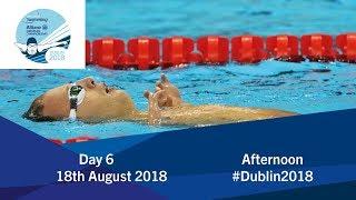 Day 6 Evening | 2018 World Para Swimming Allianz European Championships