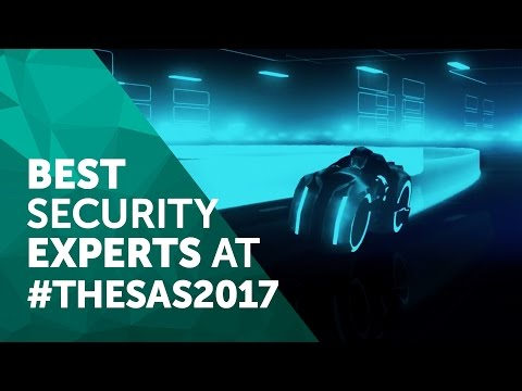 Best security experts at  #TheSAS2017