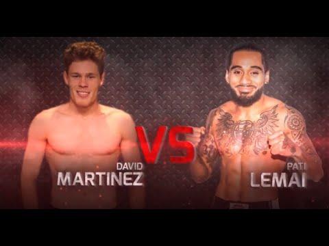 XFC 36 - David Martinez vs Pati Lemai