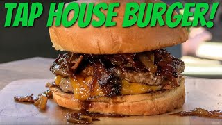 Bacon Cheddar And Ale Burger Recipe! | Ballistic BBQ