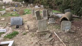 This is a Very CREEPY Cemetery! | Holt Cemetery