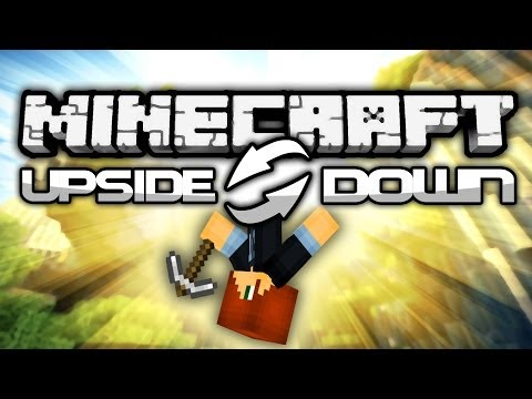 EPIC Minecraft UPSIDE DOWN Challenge! Tag and Challenge Your Friends!