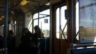 Calgary Transit (C-Train): On Board Siemens U2 #2078 (Fish Creek to Somerset)(Awesome sound)(HD)