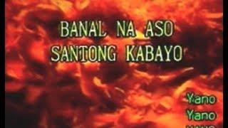 [26268] BANAL NA ASO SANTONG KABAYO (Yano) ~ 금영 노래방/KumYoung 코러스 100 Karaoke/Videoke
