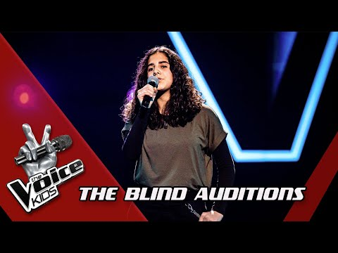 Thalia - 'Talking To The Moon' | Blind Auditions | The Voice Kids | VTM