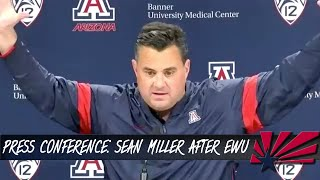Arizona locked up its second win of the season as it defeated eastern washington on saturday, 70-67. wildcats were challenged and ua head coach sean mill...