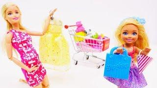 Barbie Videos für Mädchen. Steffi und Barbie gehen in den Babyladen